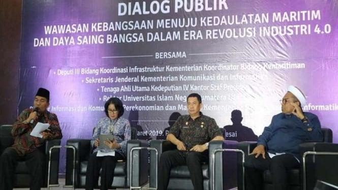 Dialog publik di UIN Sumut menghadirkan Ali Mochtar Ngabalin