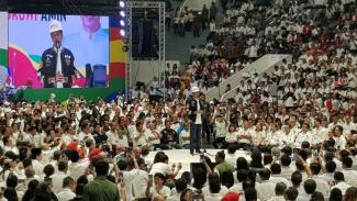 Jokowi di deklarasi 10 ribu pengusaha