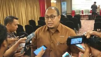 Juru bicara Badan Pemenangan Nasional Prabowo-Sandiaga, Andre Rosiade, di Jakarta, Kamis, 21 Maret 2019.