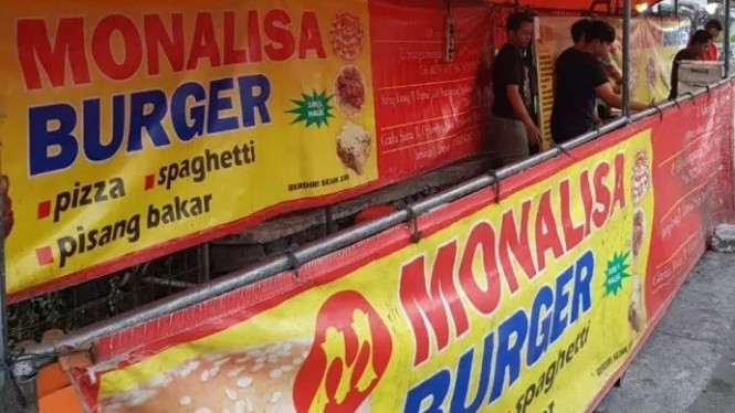 Warung Burger Monalisa