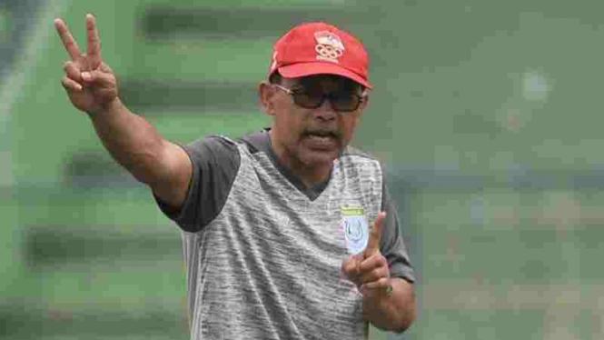Mantan pelatih Persela Lamongan, Aji Santoso