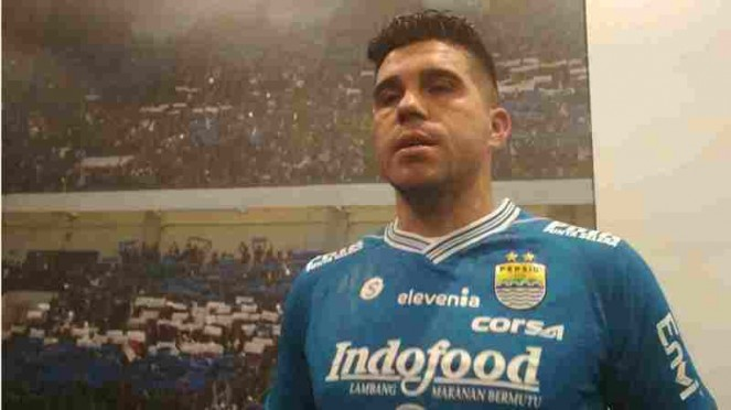 Pemain anyar rekrutan Persib Bandung, Fabiano Beltrame