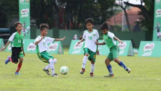 Semarak MILO Football Championship di Surabaya.