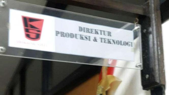 KPK segel ruangan Direksi Teknologi dan Produksi Krakatau Steel