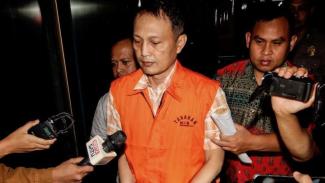 Direktur Teknologi dan Produksi PT Krakatau Steel, Wisnu Kuncoro, jadi tahanan KPK.