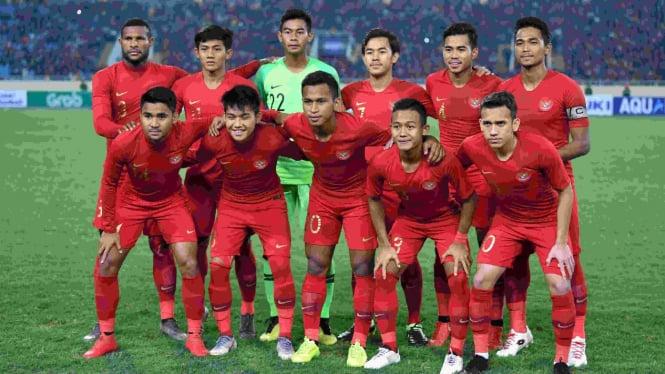 Tim nasional Indonesia U-23 di laga Kualifikasi Piala Asia U-23 2020