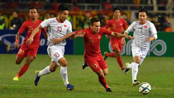 Timnas Indonesia U-23 Vs Timnas Vietnam U-23.