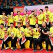 Tim bulutangkis China puncaki podium Badminton Asia Mixed Team Championship 2019