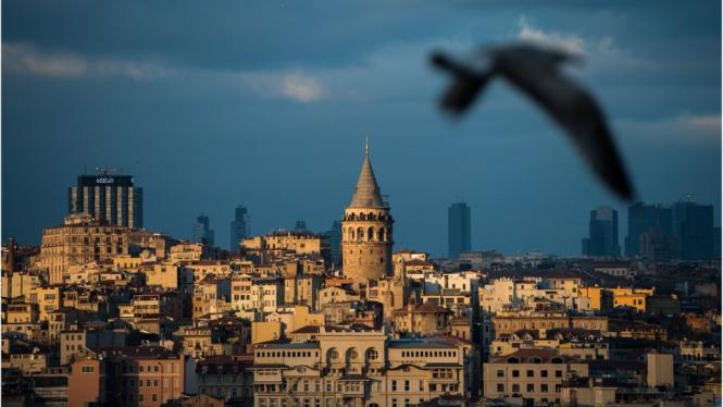 Kota Istanbul di Turki kehilangan statusnya sebagai ibu kota dari Ankara pada tahun 1923.-Getty Images
