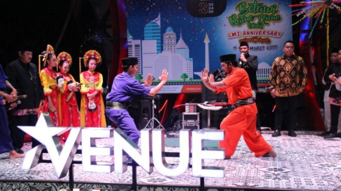 Festival Budaya Betawi bertajuk 'Betawi Rame-Rame'.