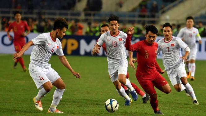 Timnas Indonesia U-23 melawan Vietnam di Kualifikasi Piala Asia U-23