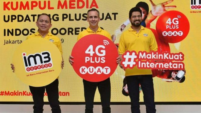 Update jaringan 4G Plus Indosat Ooredoo.