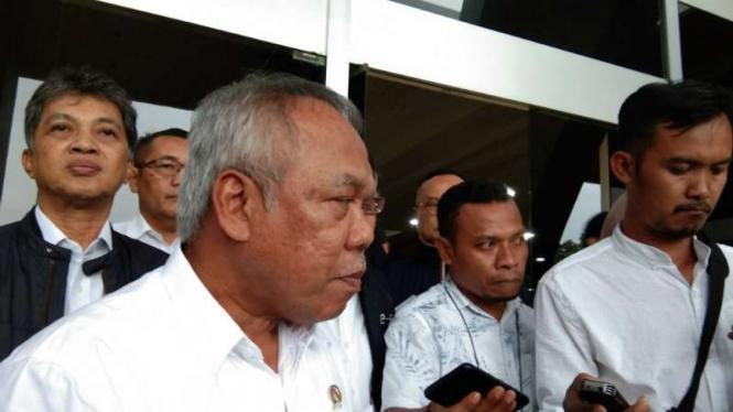 Menteri PUPR Basuki Hadimuljono.