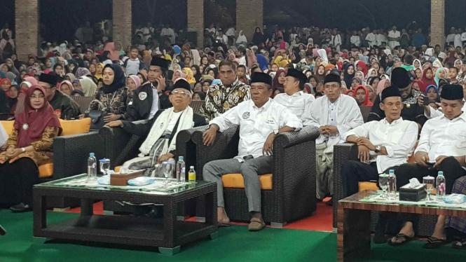 Cawapres nomor urut 01 Ma'ruf Amin di Banten