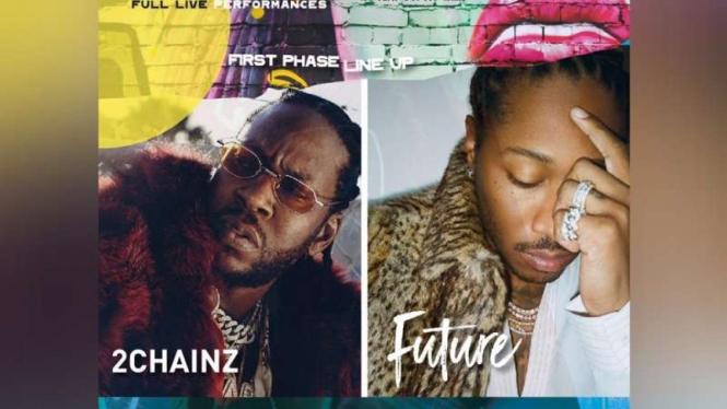 2 Chainz dan Future Siap Guncang Jakarta - VIVA