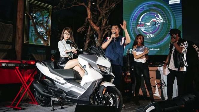 Peluncuran BMW C 400 GT di Bali