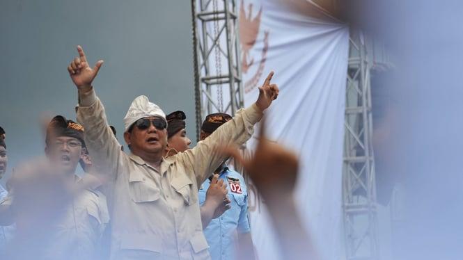 Kampanye Prabowo Subianto di Bali