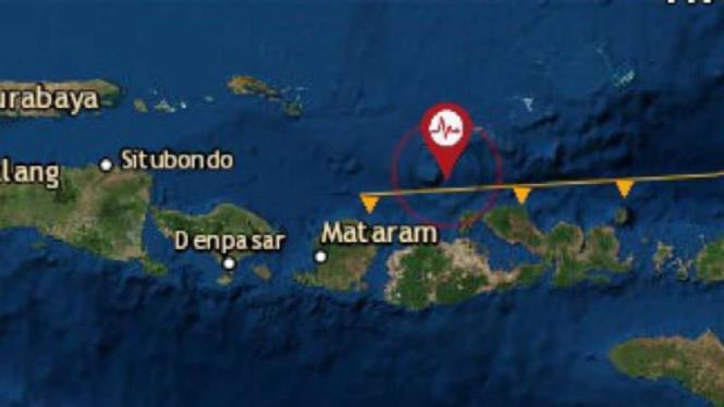 Gempa bermagnitudo 4,1 mengguncang Sumbawa, Nusa Tenggara Barat