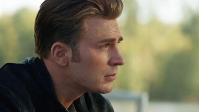 Chris Evans dalam Avengers: Endgame