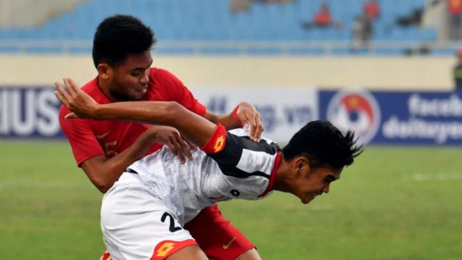 Duel Timnas Indonesia U-23 versus Brunei Darussalam