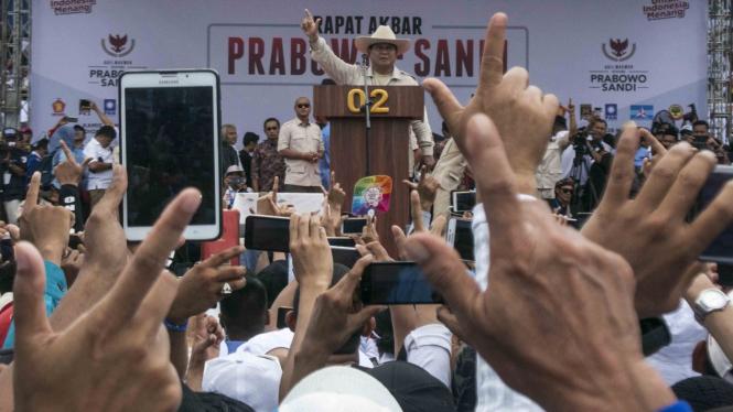 Rapat Akbar Prabowo-Sandi