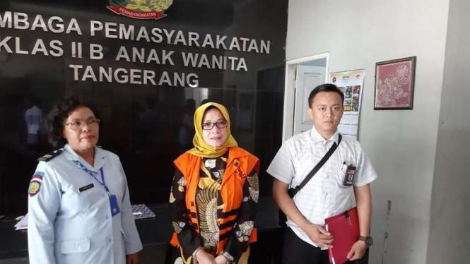 Politikus Golkar Eni Saragih di Lapas Tangerang