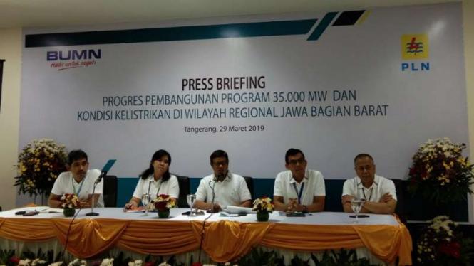 PLN umumkan realisasi proyek Listrik 35 ribu MW.