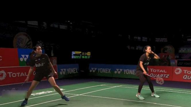 Della Destiara Haris/Tania Oktaviani Kusumah di India Open.