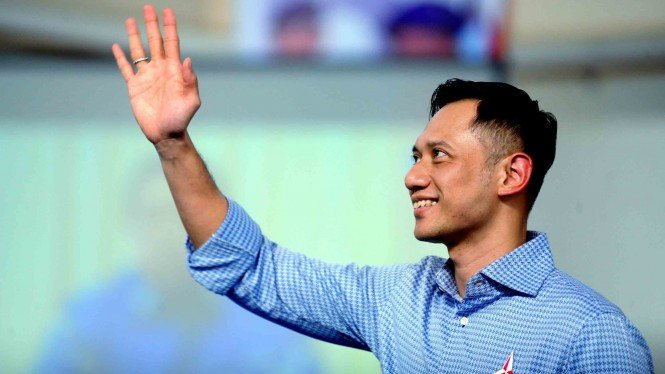 Ketua Komando Satuan Tugas Bersama (Kogasma) Partai Demokrat Agus Harimurti Yudhoyono (AHY)