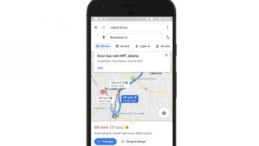 Peta MRT di Google Maps
