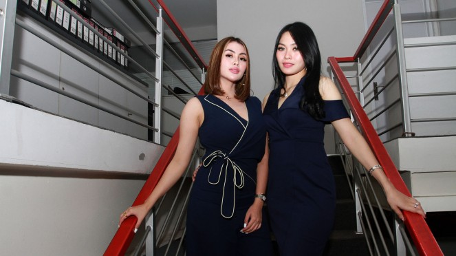 Duo Amor Kunjungi VIVA, Refty Ratu dan Yuyun