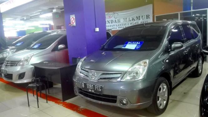 Nissan Livina di bursa mobil bekas