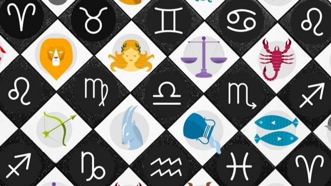 Ilustrasi zodiak.