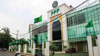 Kantor DPP Partai Persatuan Pembangunan (PPP) di Menteng, Jakarta.