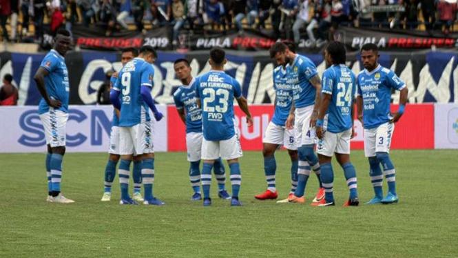 Para pemain Persib Bandung.