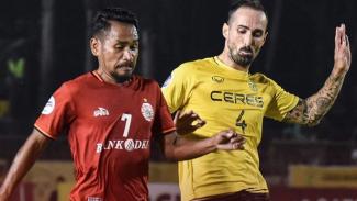 Pertandingan Ceres Negros vs Persija Jakarta