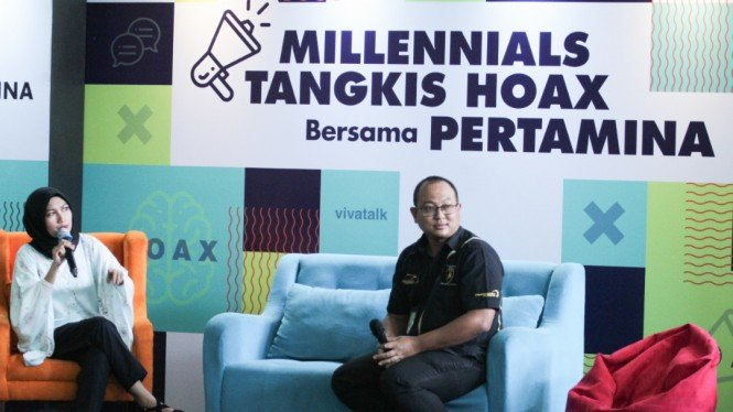 Millennials Tangkis Hoax, Arya Dwi Paramita Media Communications Manager Pertamina