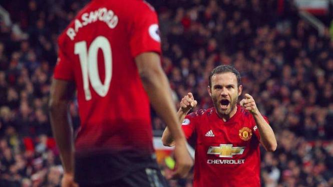 Gelandang Manchester United, Juan Mata