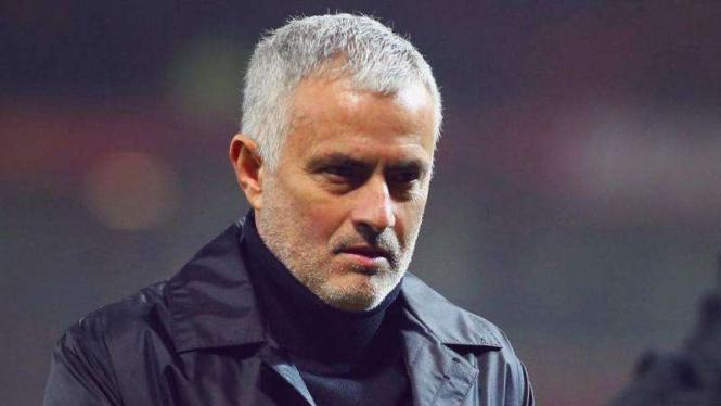 Jose Mourinho saat masih menangani Manchester United