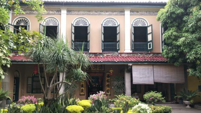 Rumah bangsawan legendaris Tjong A Fie  di Medan