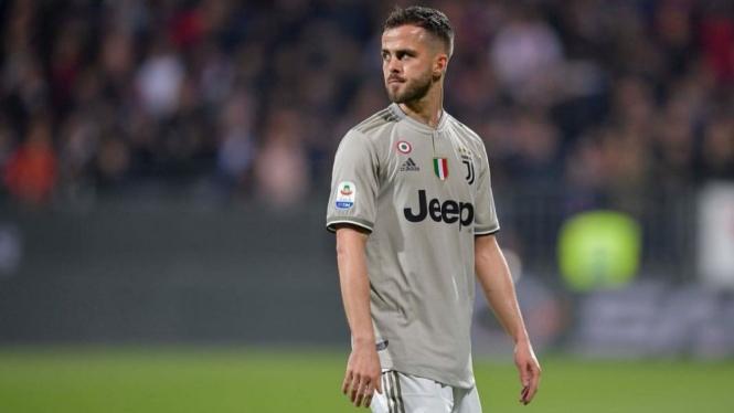 Gelandang Juventus, Miralem Pjanic