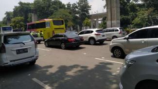 Ilustrasi situasi arus lalu lintas.