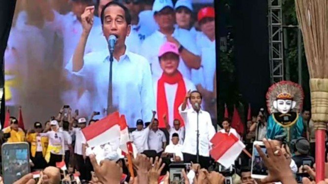 Presiden Joko Widodo di Tangerang.