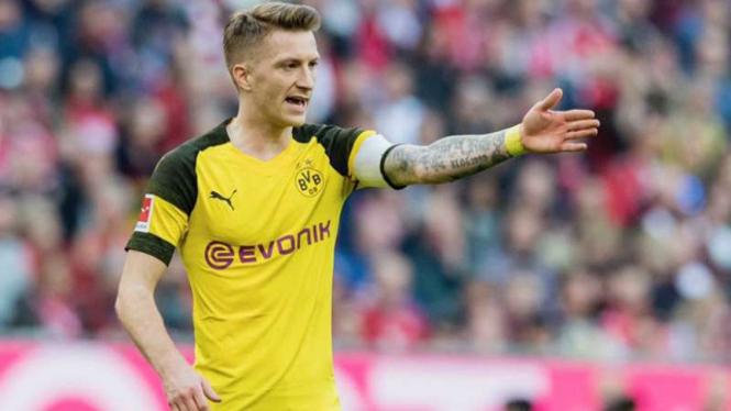 Penyerang Borussia Dortmund, Marco Reus.