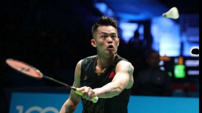 Lin Dan di final Malaysia Open.