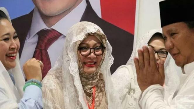 Tiga Putri Soeharto hadiri kampanye akbar Prabowo-Sandiaga