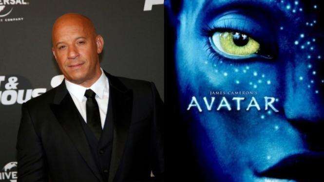 Vin Diesel Terlibat di sekuel film Avatar.