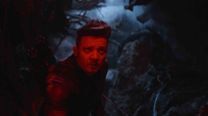 Cuplikan adegan dalam film Avengers: Endgame.