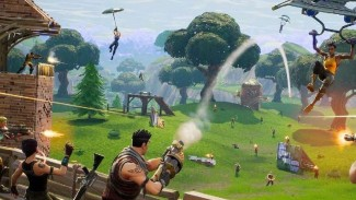 Game online Fortnite.