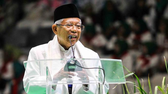 KH Maruf Amin.